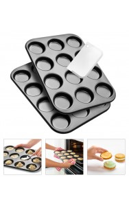 Set 2 stampi Whoopies con spatola
